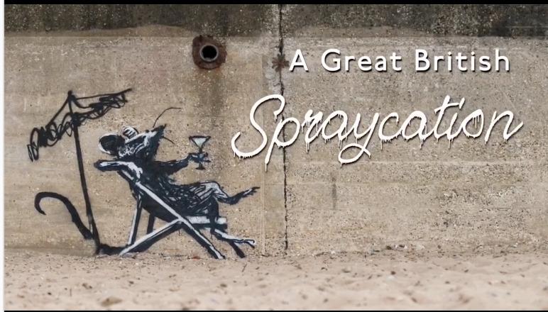 Banksy confirma la autoría de obras aparecidas en pueblos costeros de Inglaterra