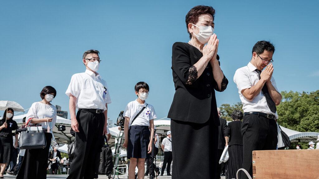 Japón conmemora 76 años de la bomba de  Hiroshima en plenos Juegos Olímpicos