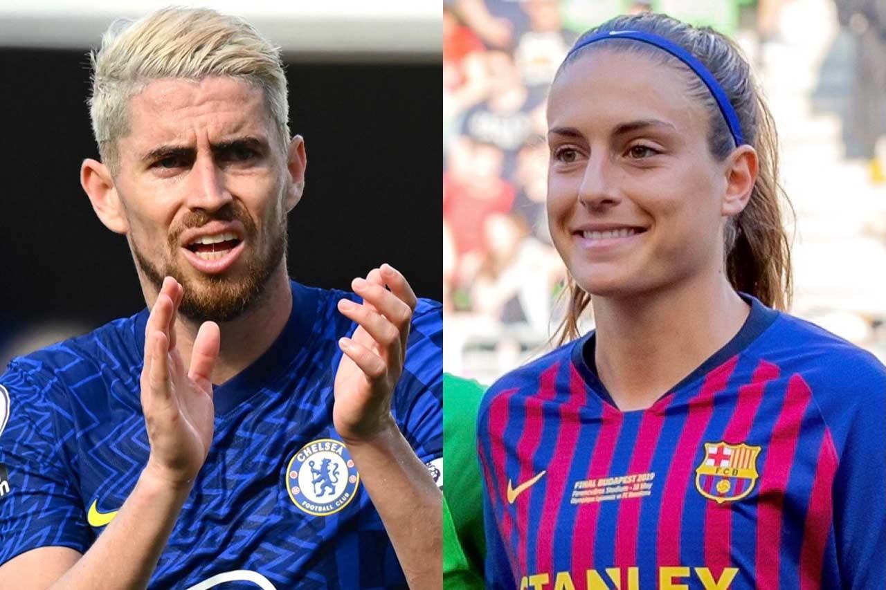 Alexia Putellas y Jorginho son elegidos como mejores jugadores UEFA del año