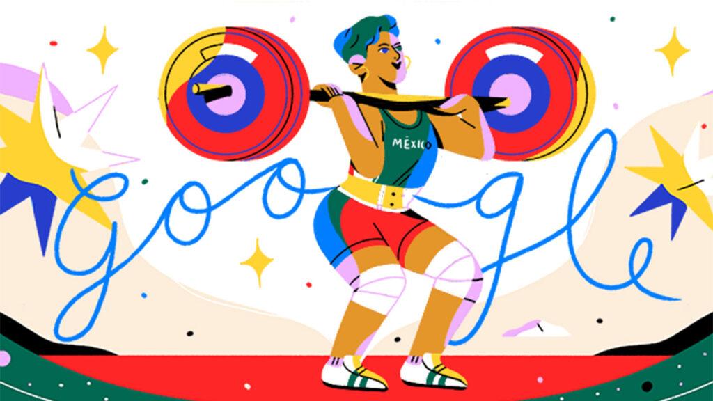 Google agradece a Soraya Jiménez con un doodle por usar sus 'fuerzas para hacer historia'