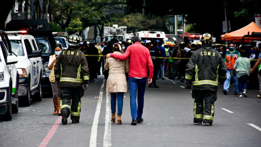 Fallece una de las víctimas hospitalizadas tras explosión en Avenida Coyoacán