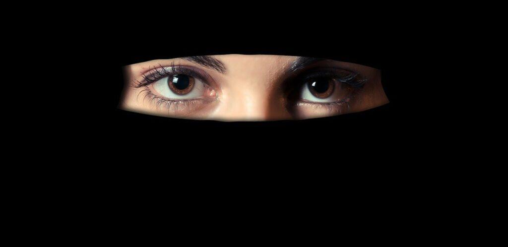 Burka invisible