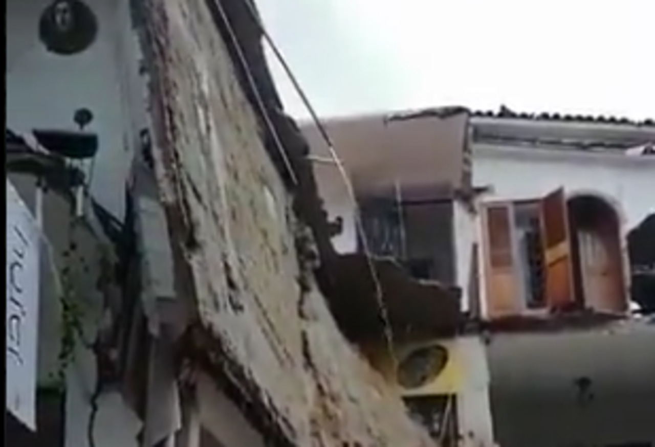 Un menor español muere por el derrumbe de un hotel en Puerto Vallarta