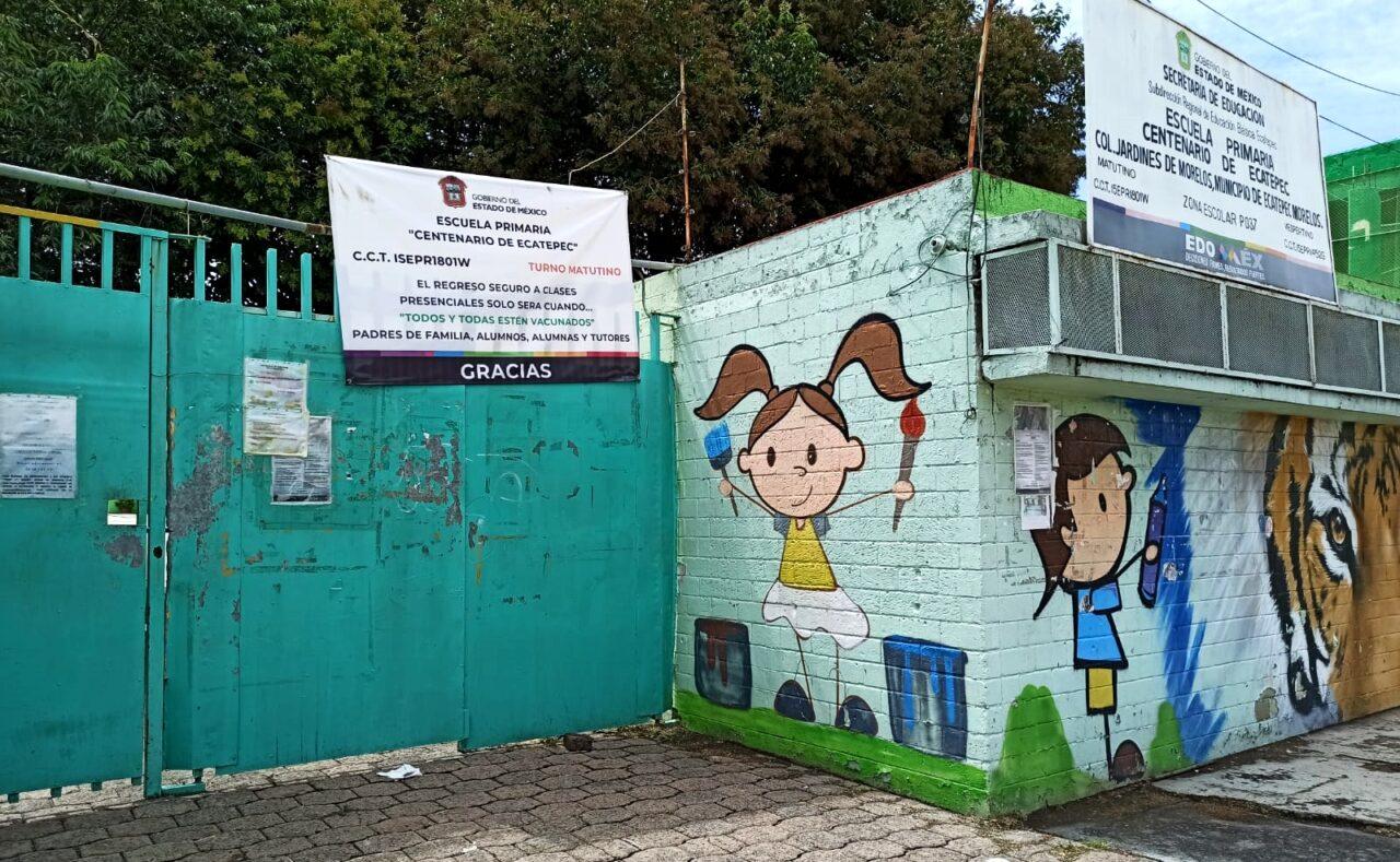 En Ecatepec el regreso a clases presenciales fue en escuelas privadas