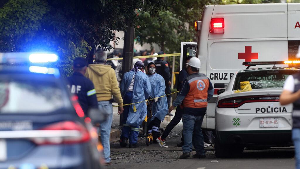 Los hospitales a donde fueron trasladados los heridos de la explosión en Avenida Coyoacán