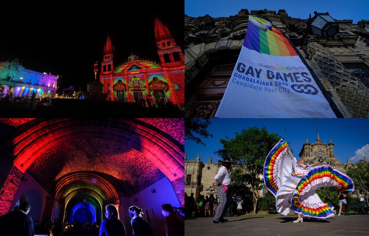 Guadalajara se pinta de arcoiris para ser la sede de los Gay Games 2026