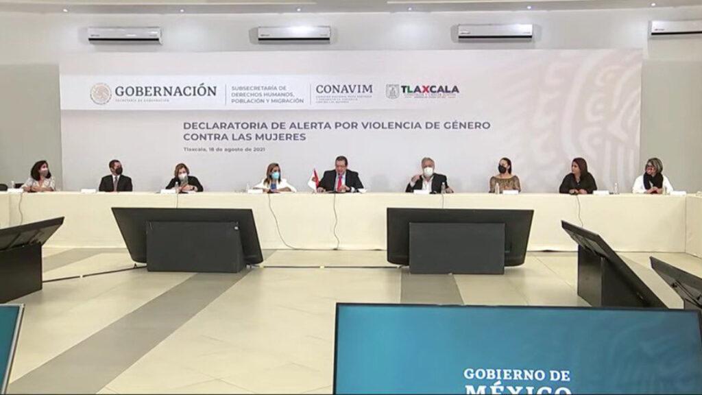Activan alerta de violencia de género en Tlaxcala