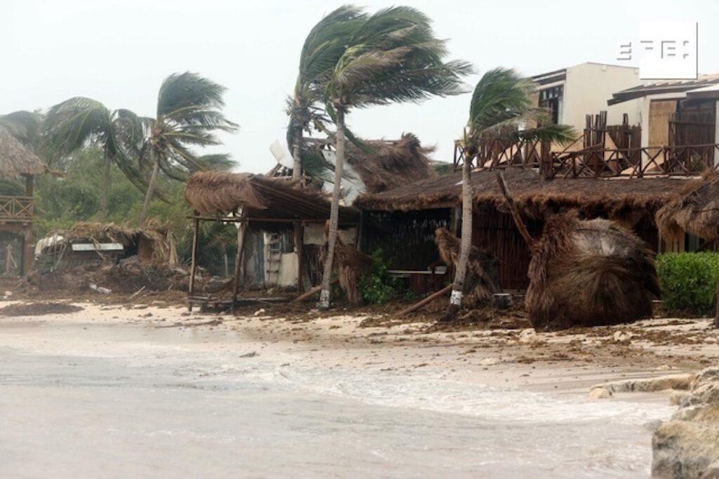 'Grace' retoma fuerza y tocará tierra como huracán 1 en Veracruz: Conagua