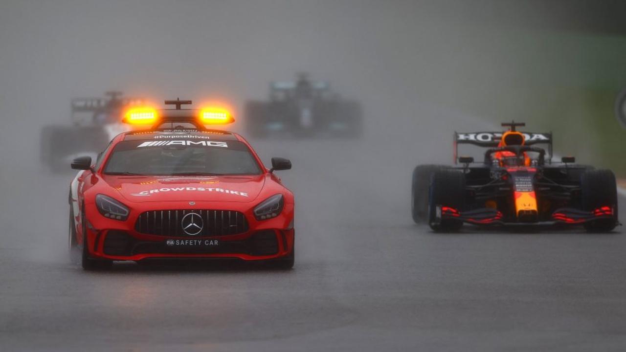 Verstappen Gran Premio de Bélgica, la carrera más corta de la F1