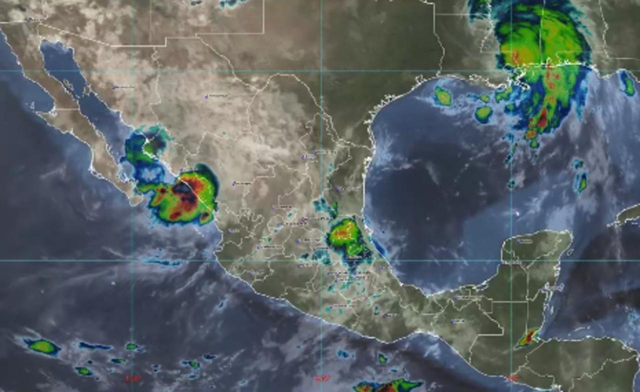 'Nora' pierde fuerza: ya es baja presión y se mantiene Sinaloa
