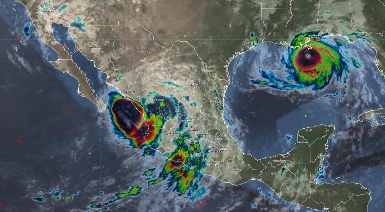 """Huracán """"Nora"""" trayectoria: el ciclón avanza por las costas de Sinaloa"""
