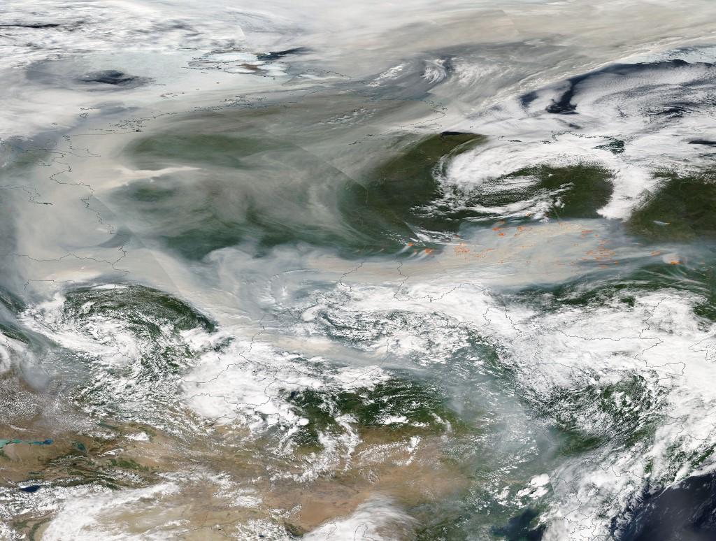 Los incendios forestales en Siberia han consumido el equivalente a Puebla