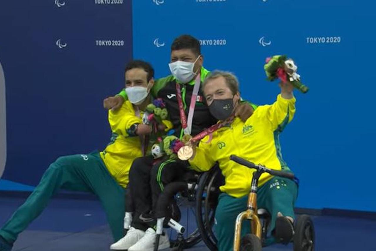 Jesús Hernández da el segunda oro a México en los Juegos Paralímpicos de Tokio 2020