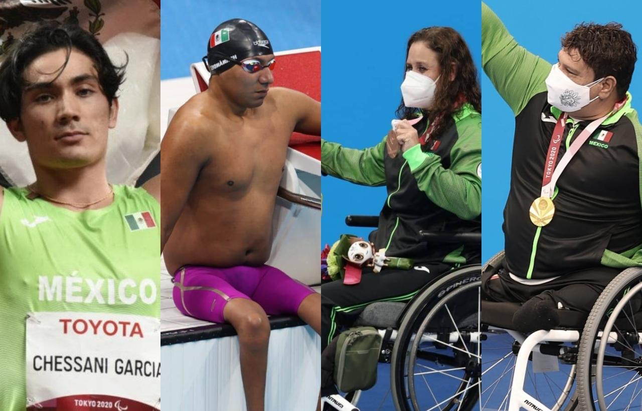 ¡Gran día para México! Dos medallas de oro y dos de bronce en los Paralímpicos