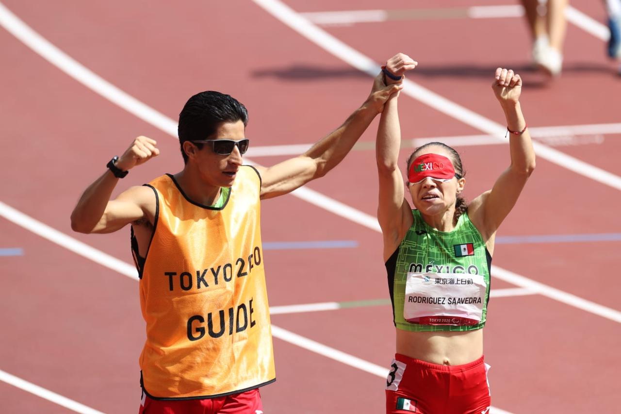 La mexicana Mónica Rodríguez gana oro e impone récord en Tokio 2020