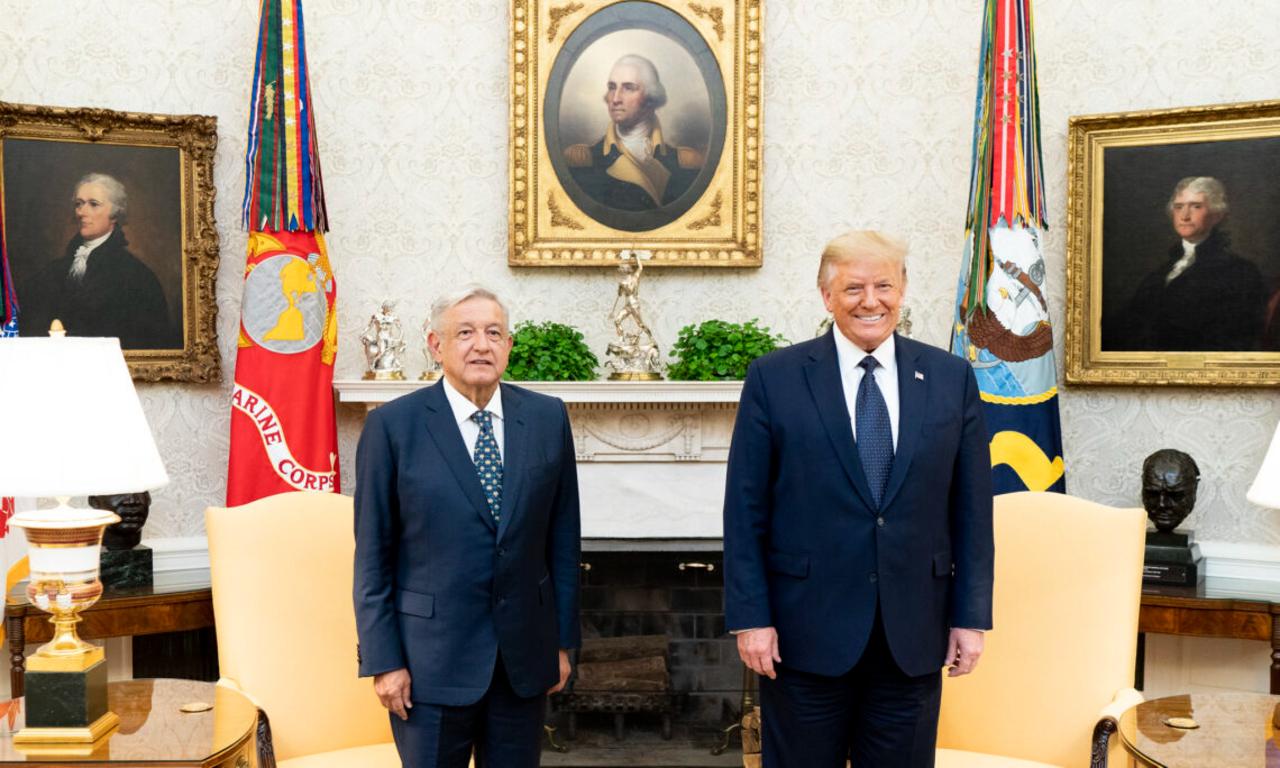 AMLO explica el 'pacto de silencio' con Trump sobre el muro