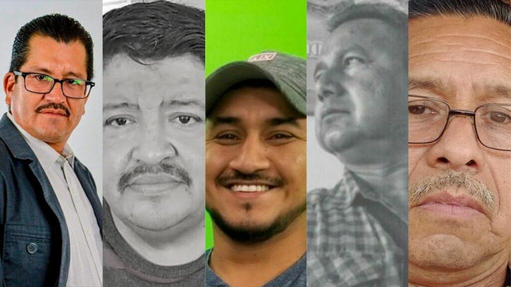 La-Lista de periodistas asesinados en lo que va del 2021