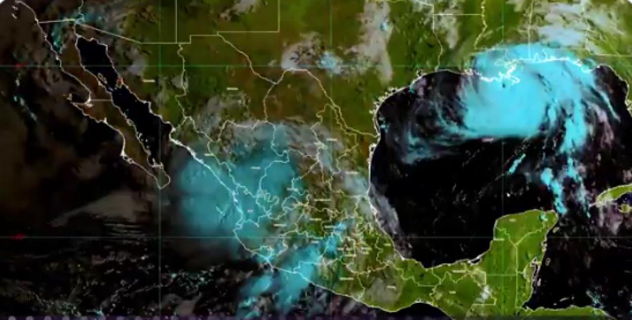 """Nora"" se degrada a tormenta tropical frente a Sinaloa"