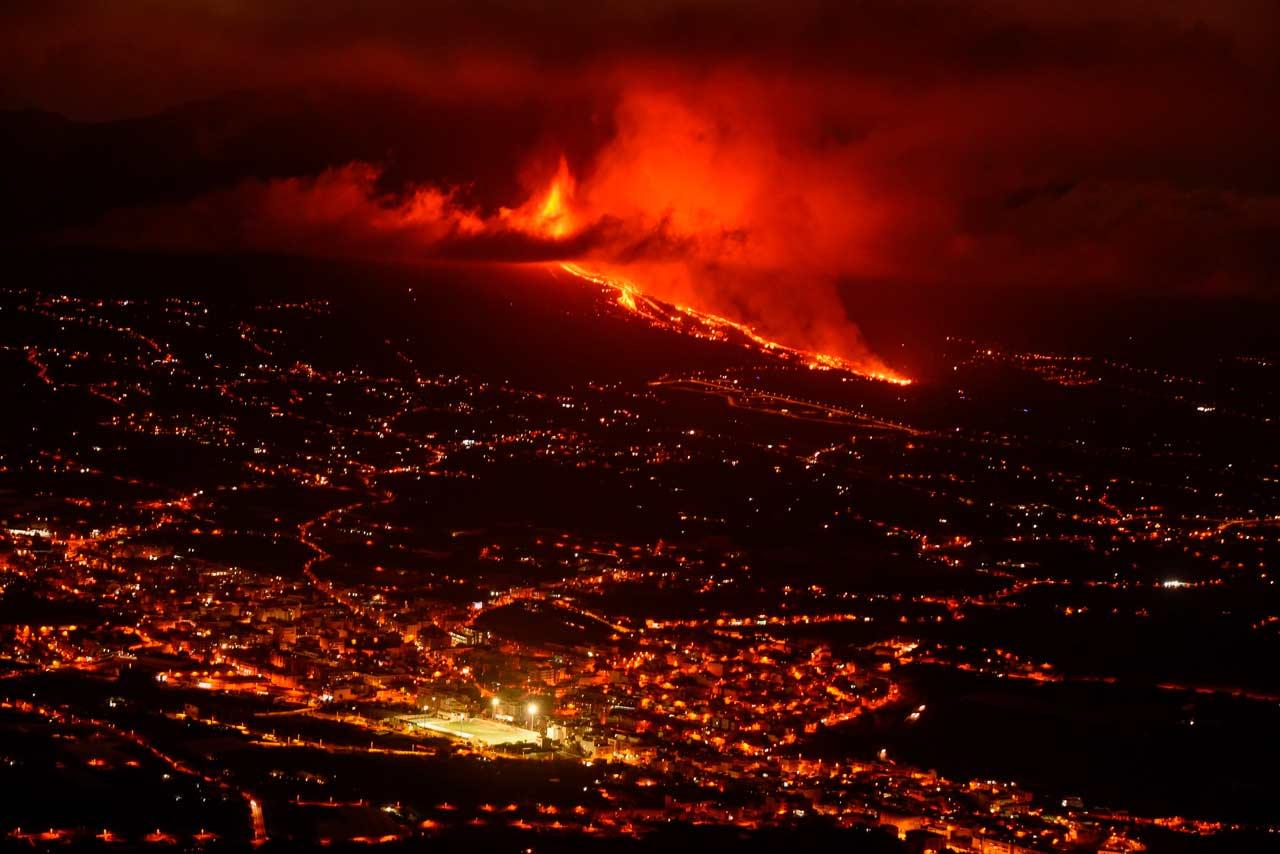 Fotogalería: Lava, gases, rocas… Así fue la erupción del volcán Cumbre Vieja