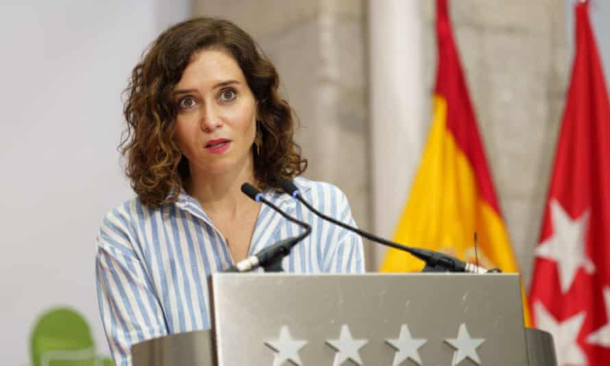 La presidenta de la Comunidad de Madrid discrepa con la disculpa del papa por los 'errores dolorosos' en México