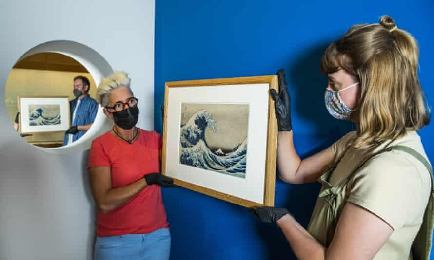 El Museo Británico entra al mundo de los NFT con postales digitales de Hokusai