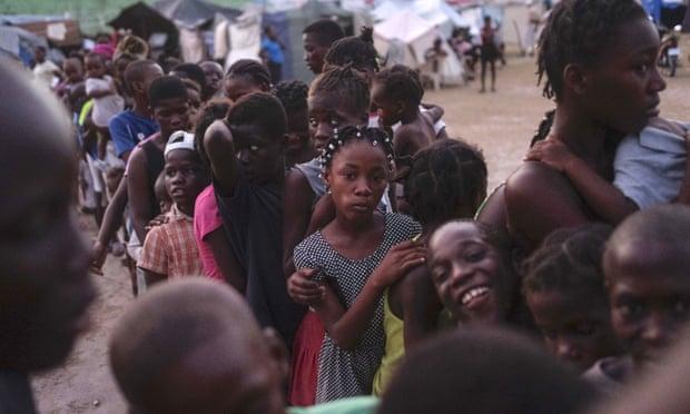 'No veo a mi mamá': El terremoto de Haití deja una nueva generación de huérfanos