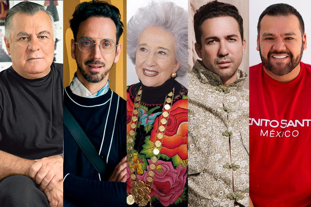 La-Lista de diseñadores que han vestido a las primeras damas de México