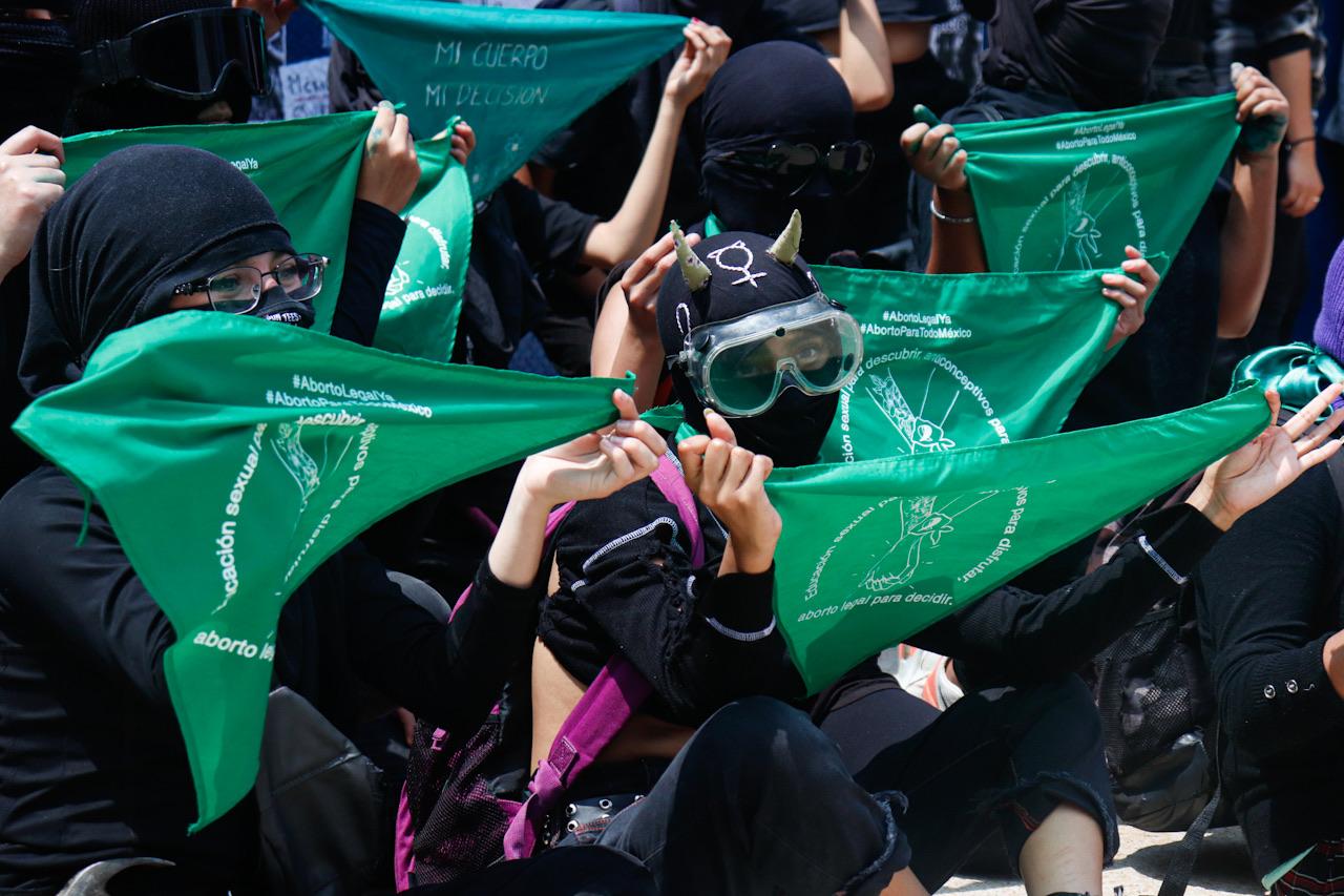 Fotogalería: Marchan por la Acción Global para el acceso al aborto legal y seguro