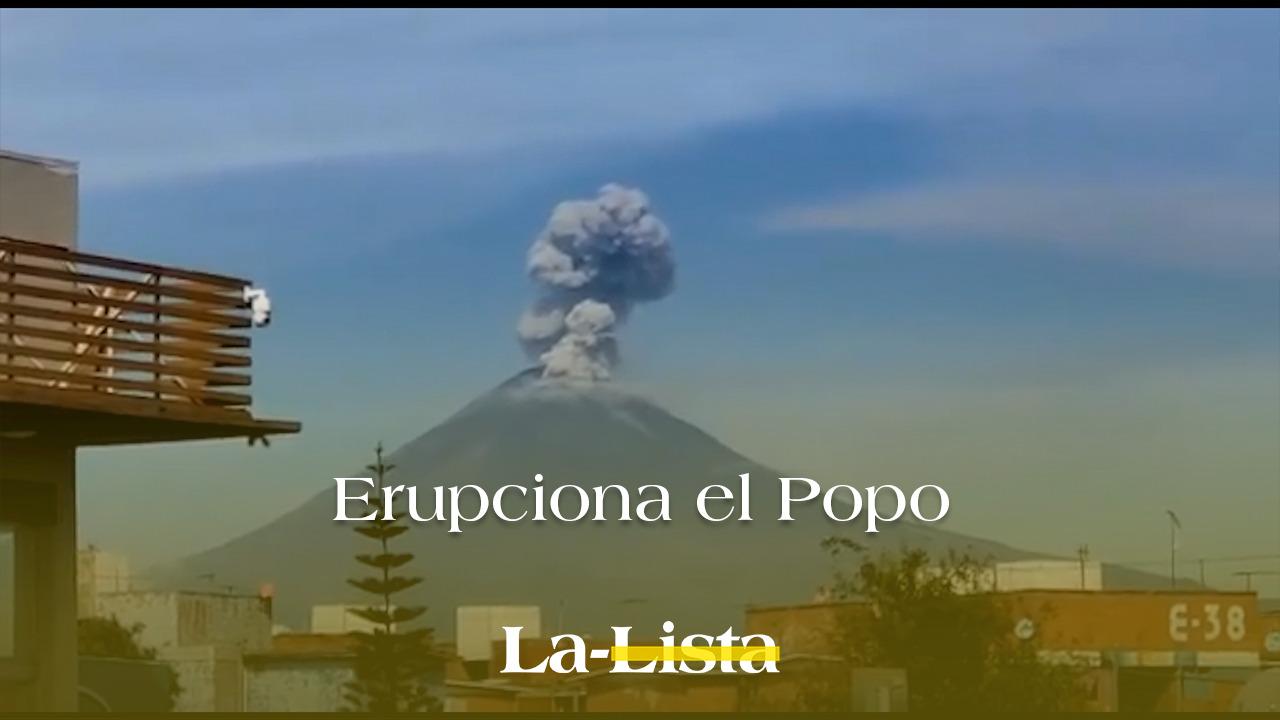 Erupciona el Popo