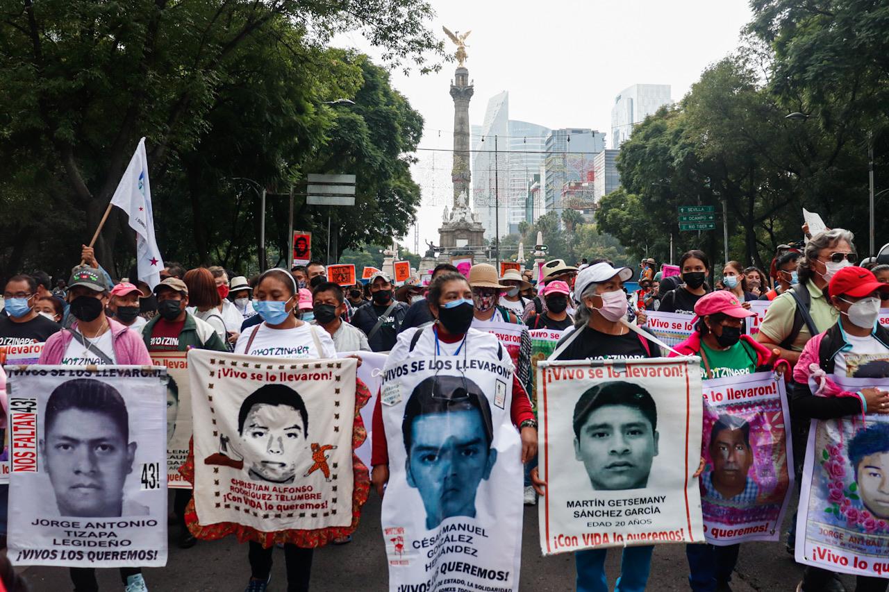 Fotogalería: A 7 años de la desaparición de 43 normalistas persiste el reclamo de justicia