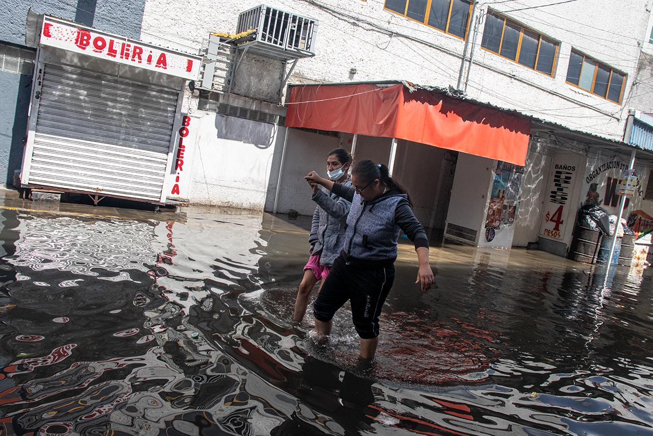 Fotogalería: Ecatepec, un día después de la inundación
