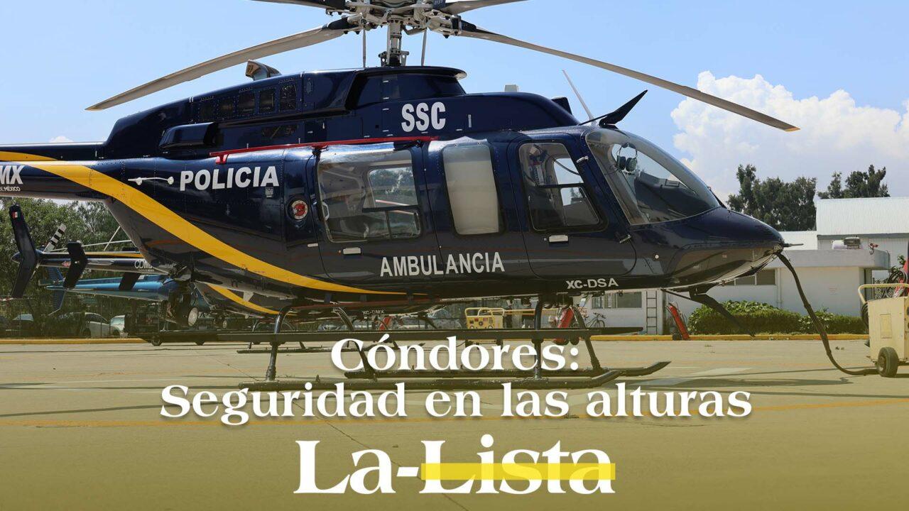 Grupo Cóndores: los héroes que vuelan en helicóptero