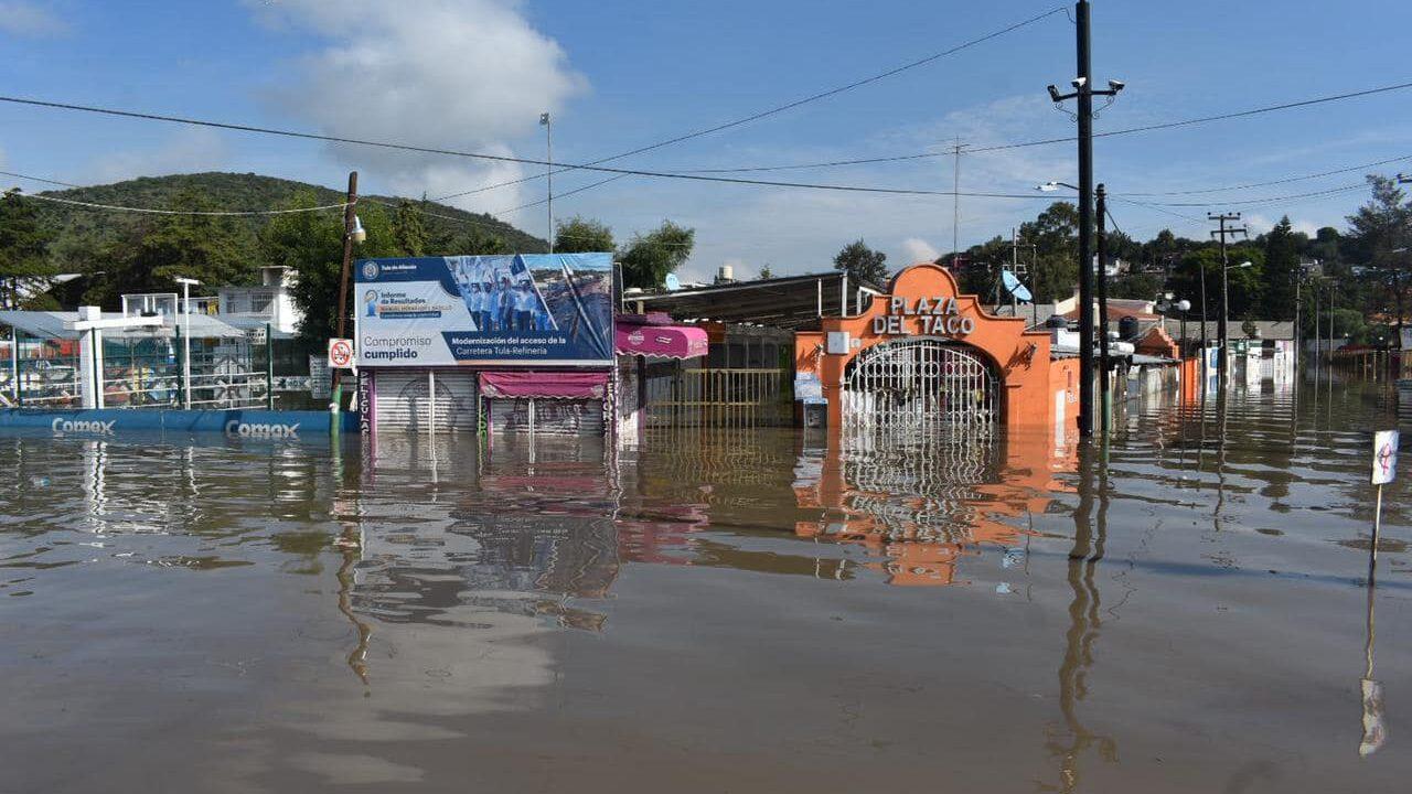 Inundaciones como la de Tula necesitan un nuevo modelo de drenaje, no uno de hace 400 años