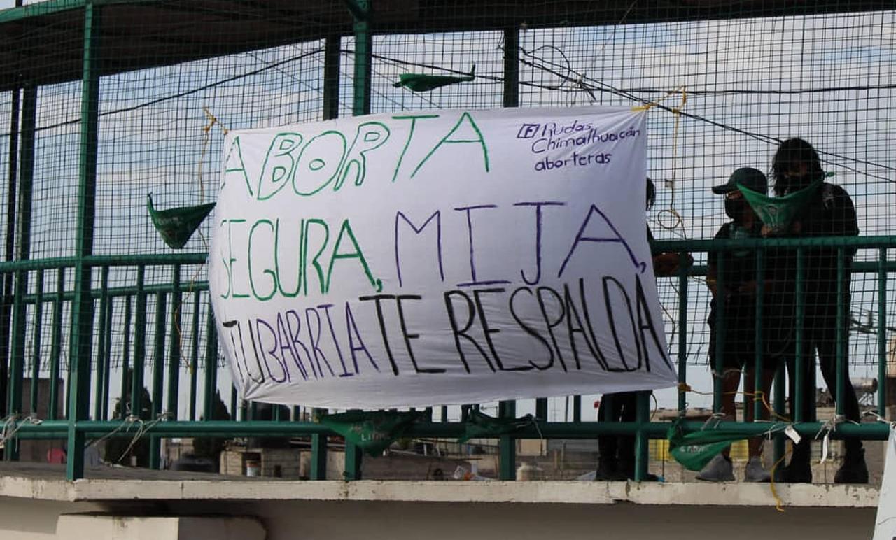 """""""Nosotras parimos, nosotras decidimos"""": Colectivas exigen aborto legal en Edomex"""