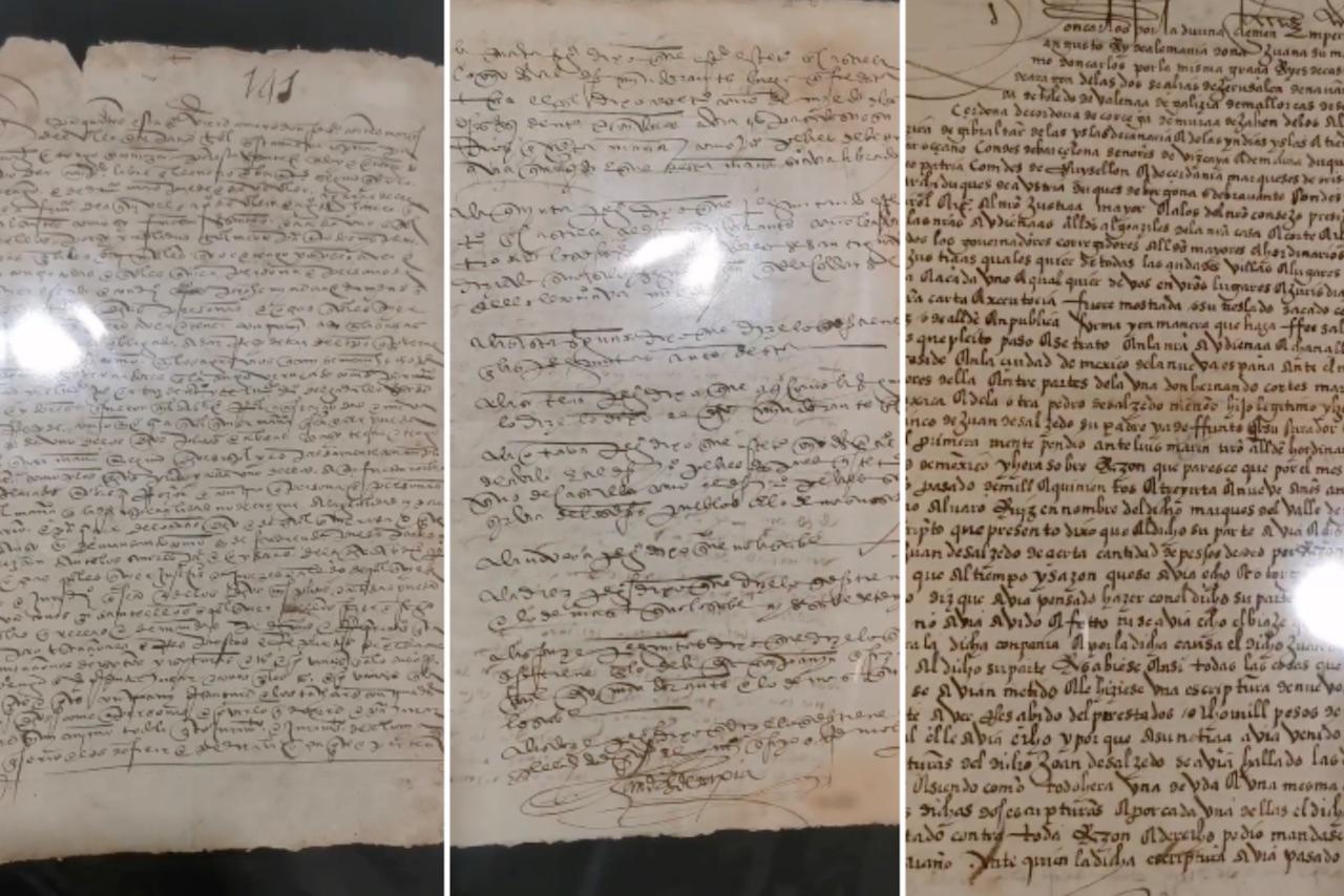 México recupera carta de Hernán Cortés y decreto de la Reina Isabel robados del Archivo Nacional