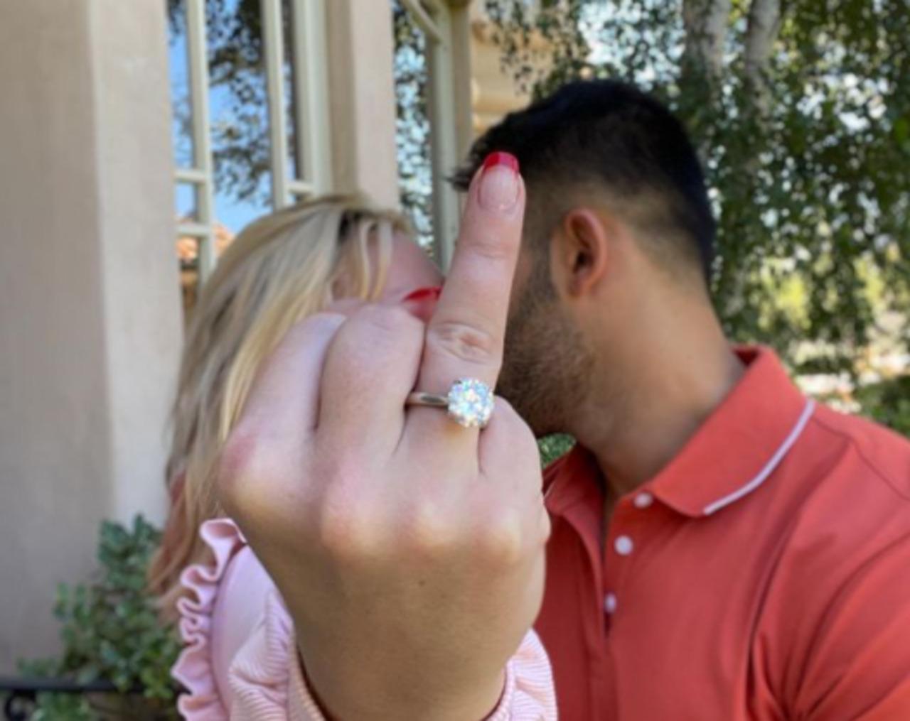 Britney Spears se casará con Sam Asghari, modelo y entrenador personal