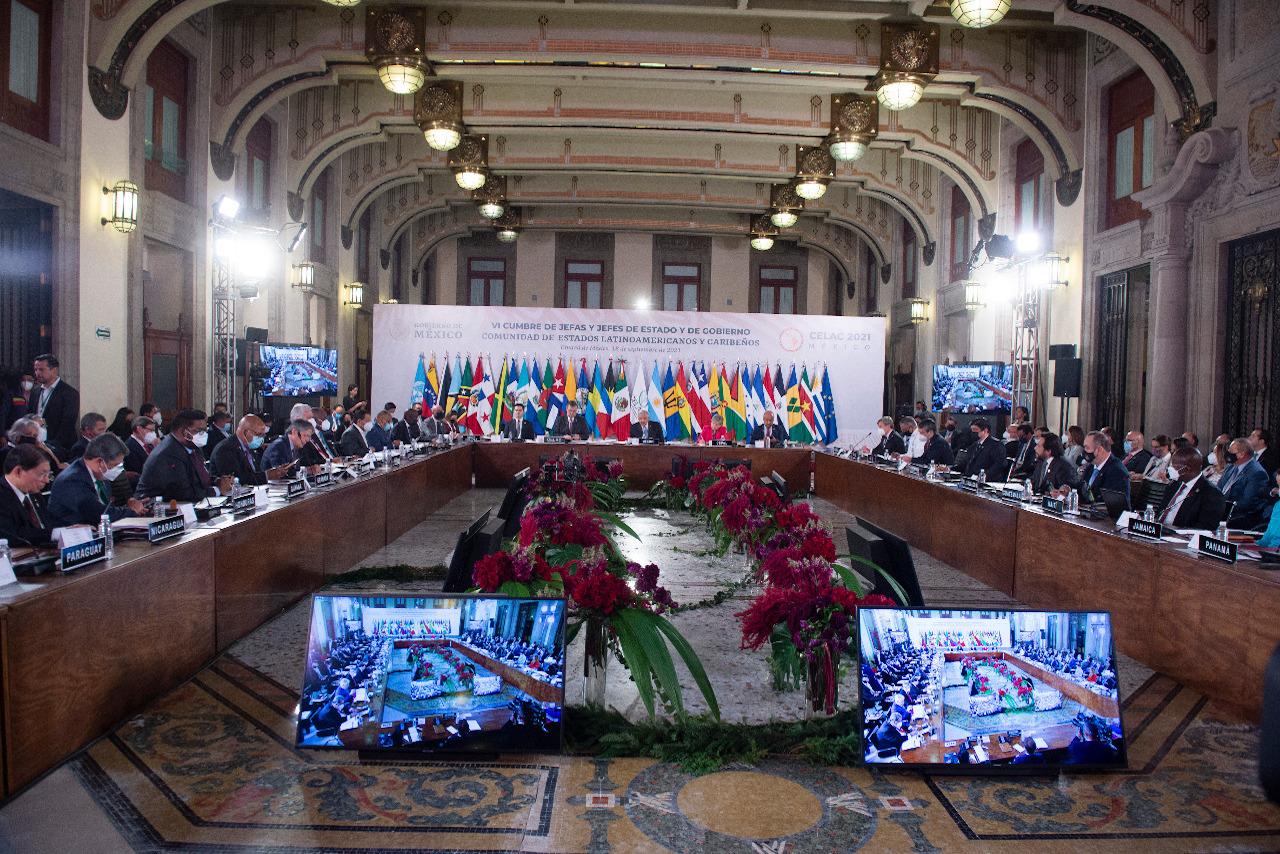 Mandatarios de AL inauguran cumbre de la Celac; AMLO pide crear 'algo parecido a la UE'