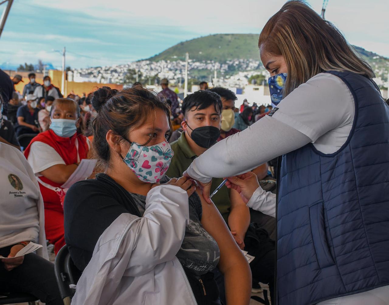 Va segunda dosis 40 a 49 en Chimalhuacán, Chalco, Valle de Chalco e Ixtapaluca