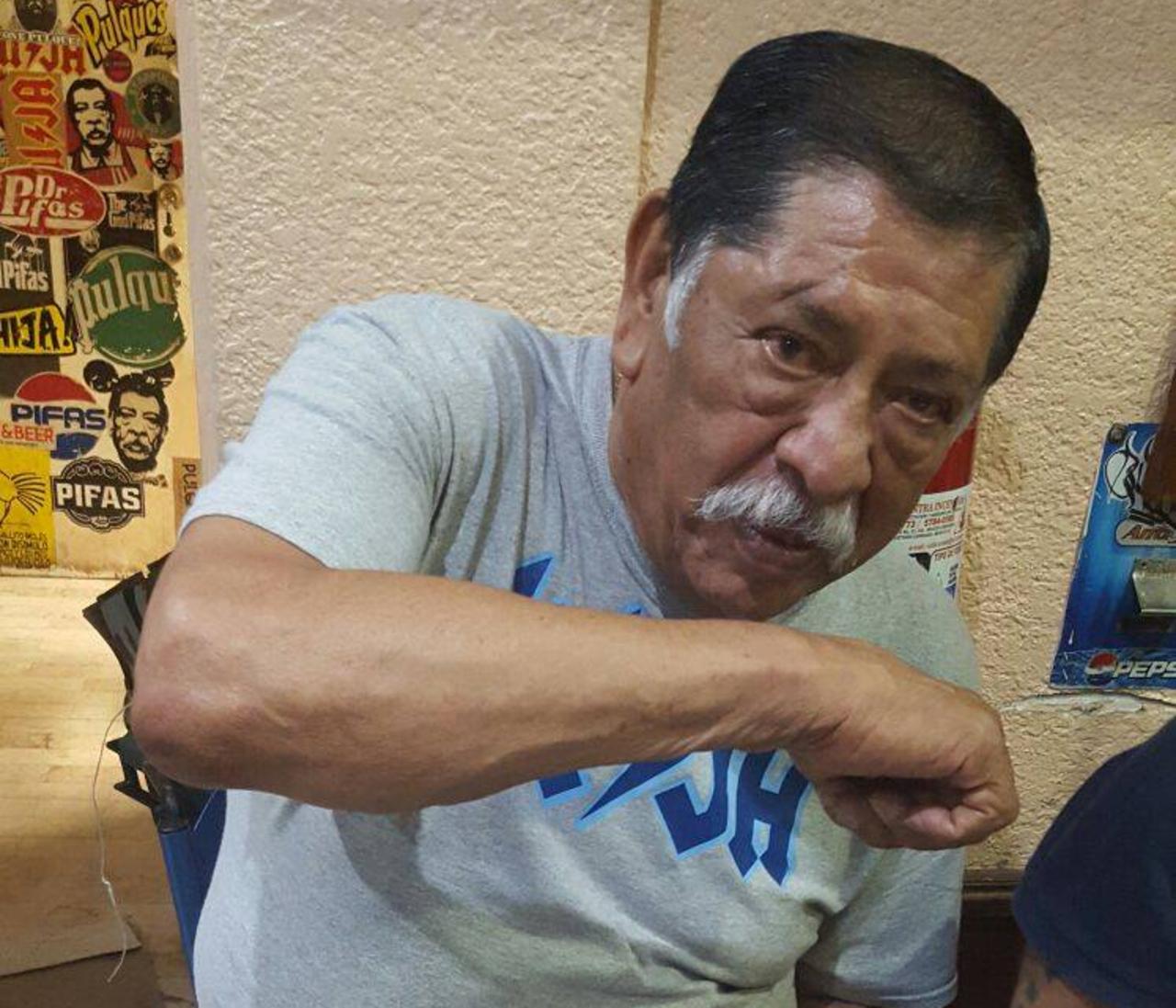 """'El Pifas', exboxeador y dueño de """"La hija de los apaches"""", falleció"""