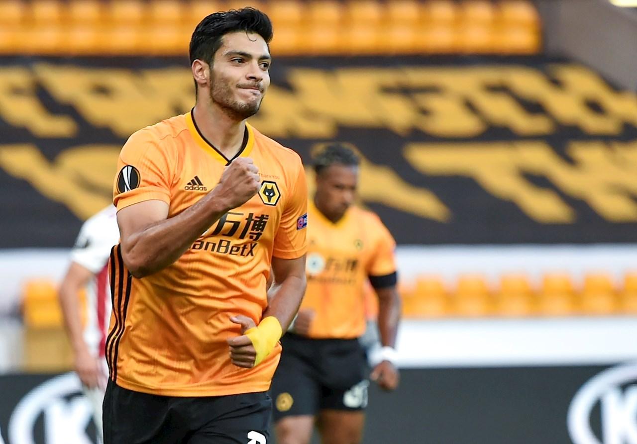 Un gol de Raúl Jiménez le da la victoria al Wolverhampton