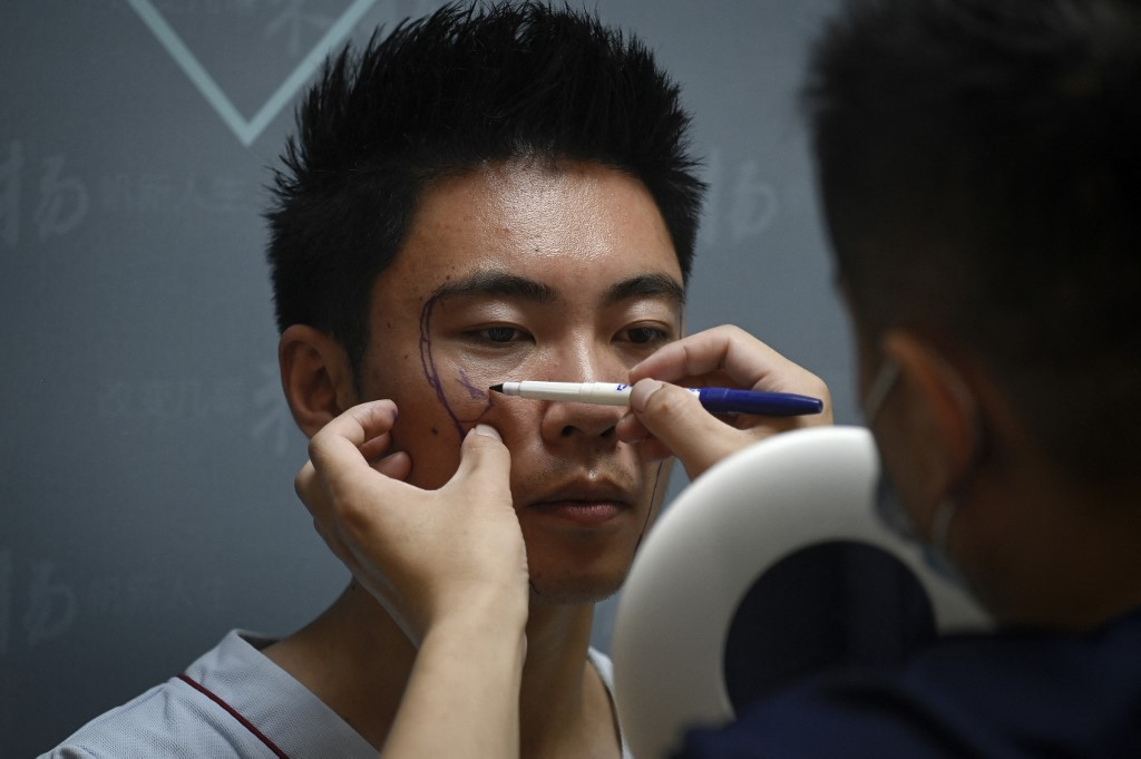Los cirugías estéticas de hombres toman fuerza en China