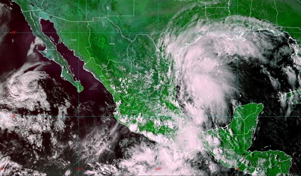 'Nicholas' se perfila a huracán en próximas horas y va hacia Tamaulipas
