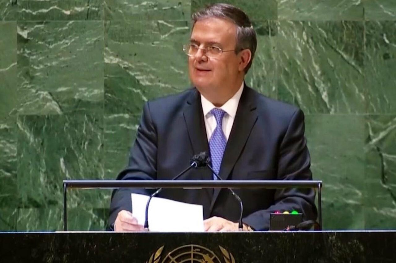 Ebrard reitera llamado de México a finalizar bloqueo económico a Cuba