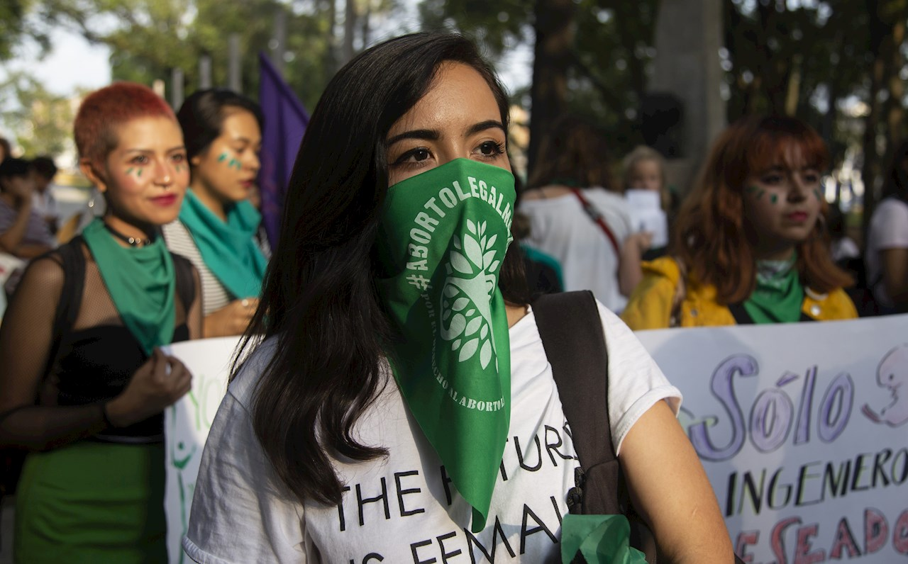 Puntos de salida para la marcha en favor del aborto del #28S en CDMX