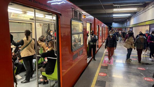 La Línea 1 del metro de la CDMX cerrará parcialmente en 2022 por remodelación