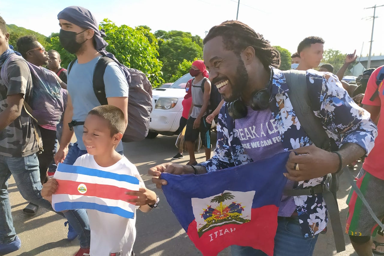 Una nueva caravana migrante parte de Tapachula, Chiapas; busca llegar a EU