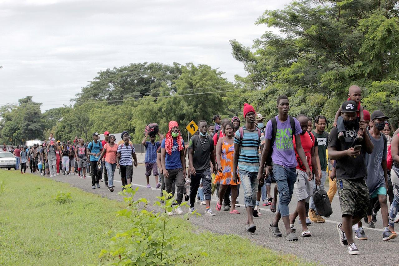 Solo 20% de los haitianos que ha llegado a México podrá recibir protección, estima la Comar