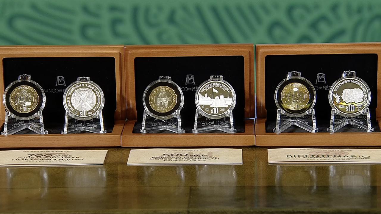 ¡Conócelas! Lanzan 6 nuevas monedas conmemorativas de 10 y 20 pesos