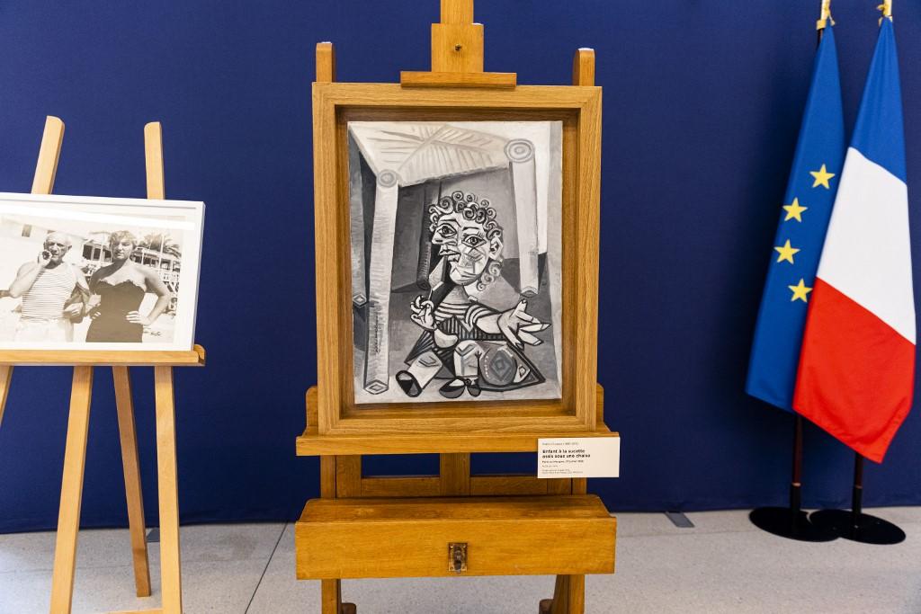 La hija de Picasso donó nueve obras a museo para pago de impuestos