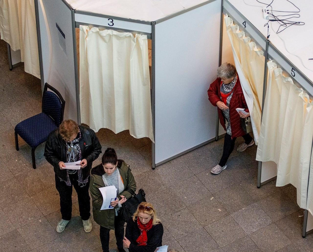 Un recuento quita a las mujeres la mayoría en el Parlamento de Islandia